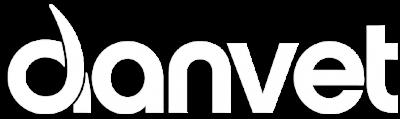 Danvet logo hvidt